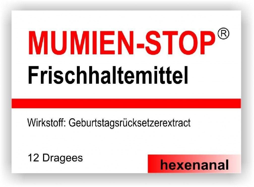 Mumien-Stopp Frischhaltemittel (Kaugummis)