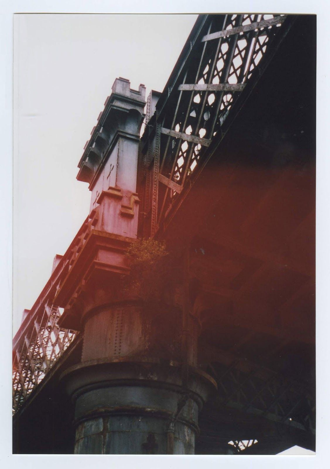 Photography lomography light leaks film analog analogue 35mm 120mm pentax k1000 expired film manchester explore urbex history diana black and