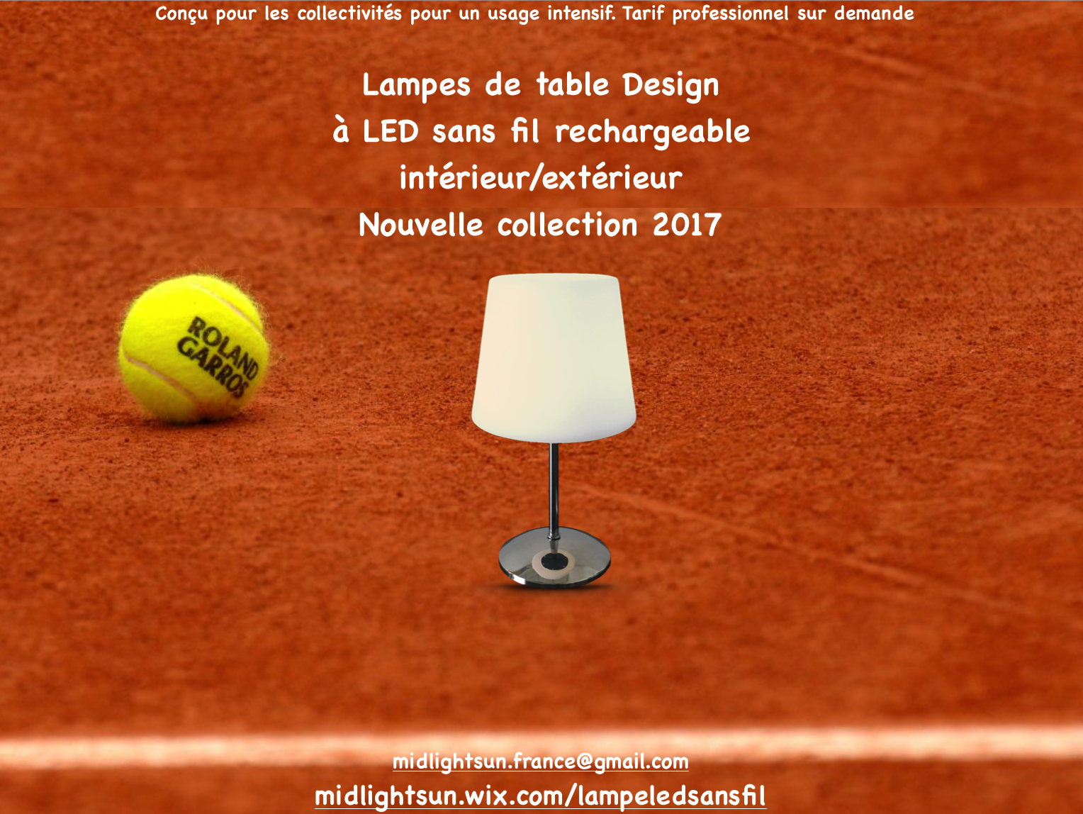 Lampe De Table Exterieur Rechargeable Lampes De Table Sans Fil à Led Rechargeable Midlightsun