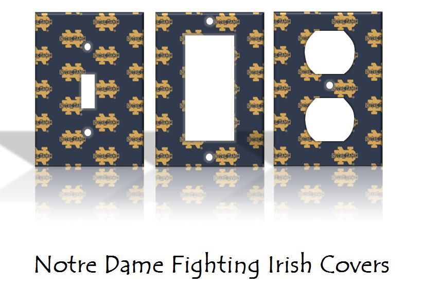 Notre Dame Fighting Irish Light Switch Covers & Wall