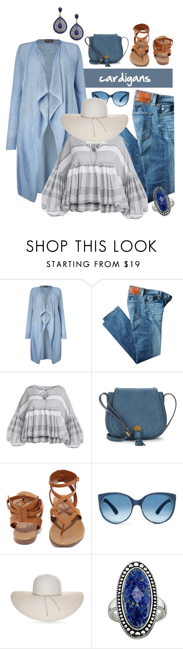 """""""Untitled #3429"""" by kellie-debrandt-mescher ❤ liked on Polyvore featuring Phase Eight, AG Adriano Goldschmied, Nanette Lepore, Breckelle's and Nine West"""