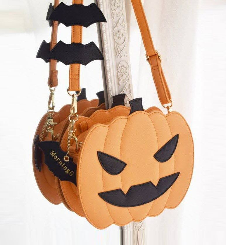 I need this pumpkin purse!!!! | Bolsas mochila, Bolsas