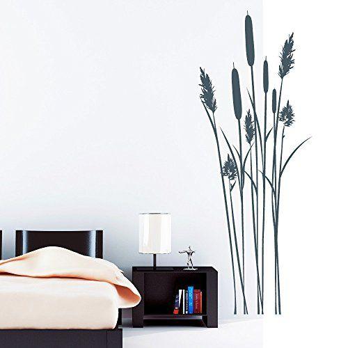 Wandtattoo Loft Wandaufkleber Schilf Bambus Strauch - Wandtattoo - Wandtattoos Fürs Badezimmer