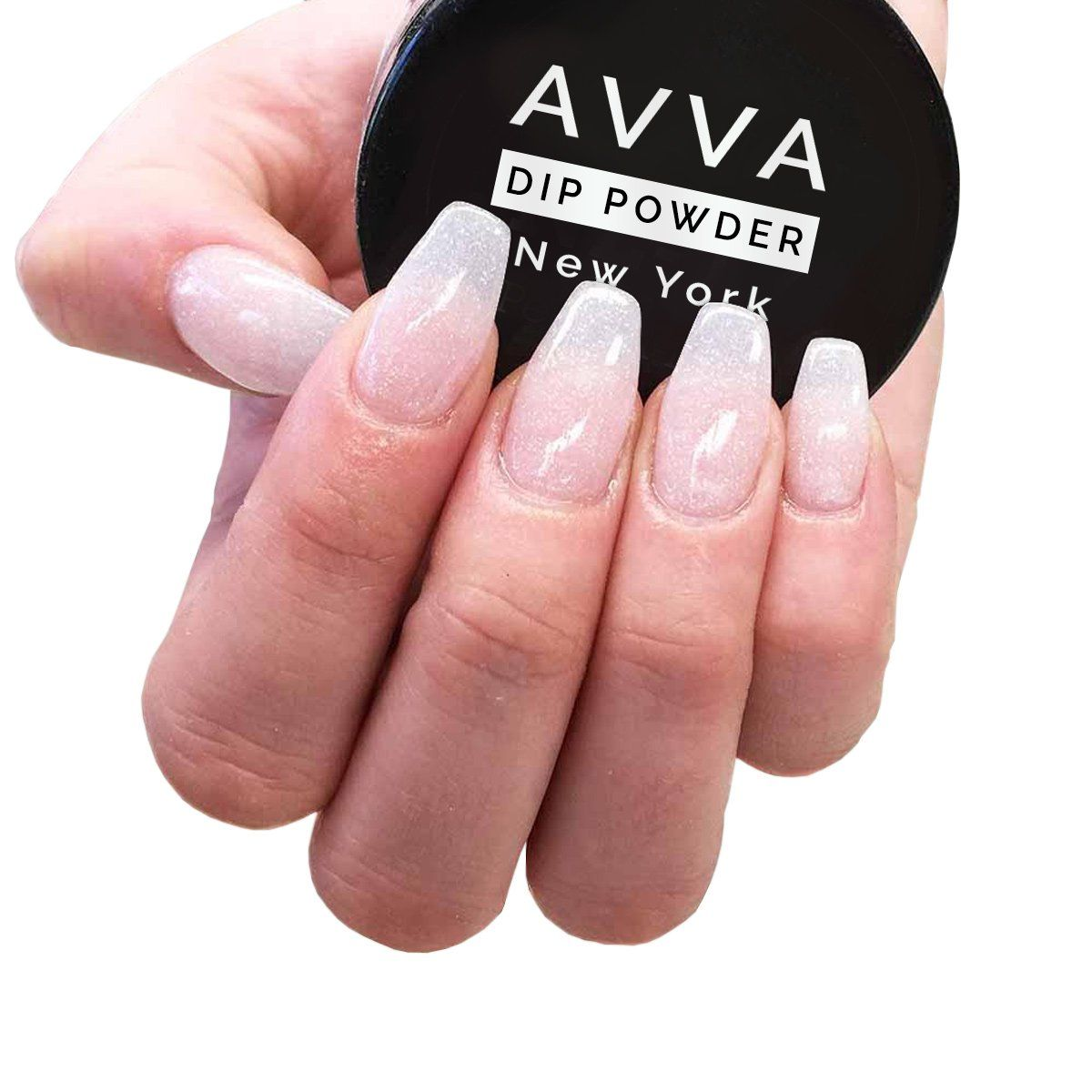 AVVA DIY Dip Powder Starter Kit Powder nails, Yellow