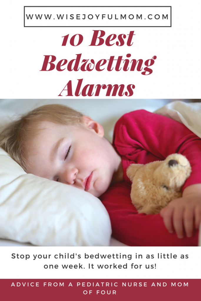 The best bed wetting alarms to stop your child's bedwetting.