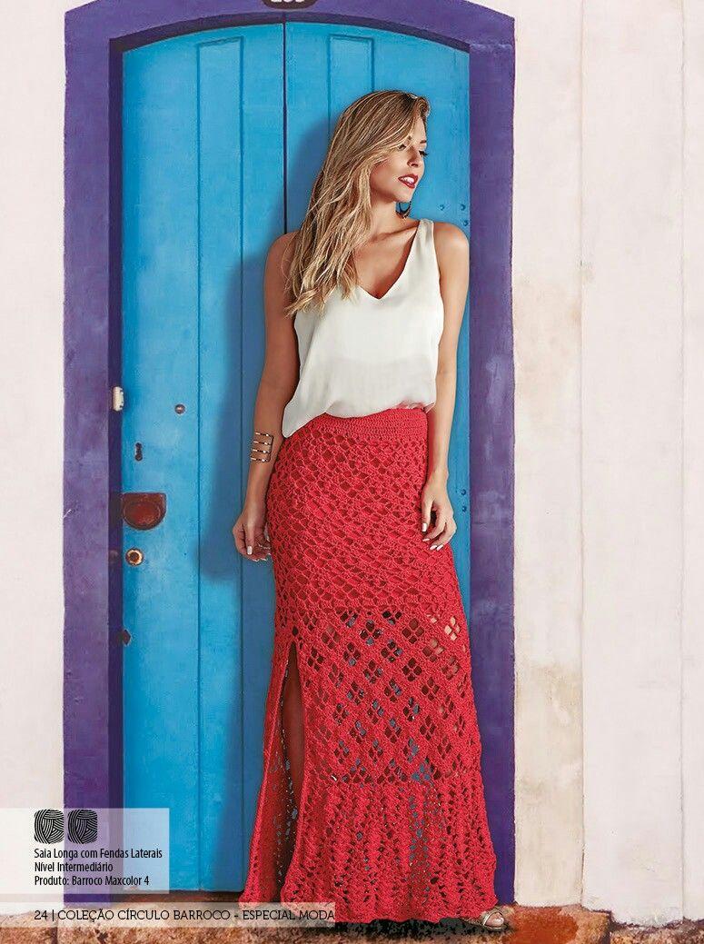 Pin von Külli S auf Crocheted skirts and dresses | Pinterest ...