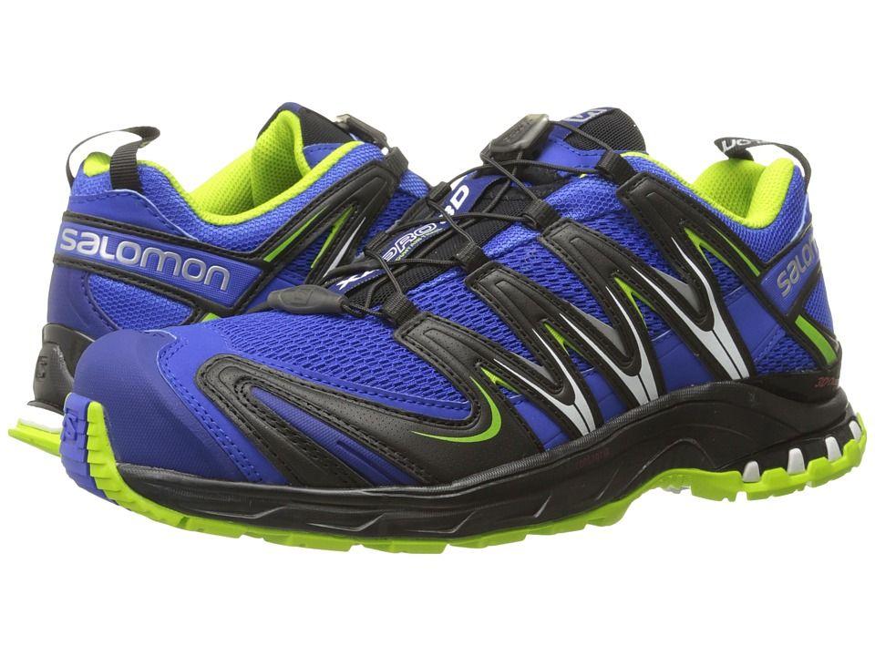 467215227837 SALOMON SALOMON - XA PRO 3D (COBALT PROCESS BLUE GRANNY GREEN) MEN S SHOES.   salomon  shoes