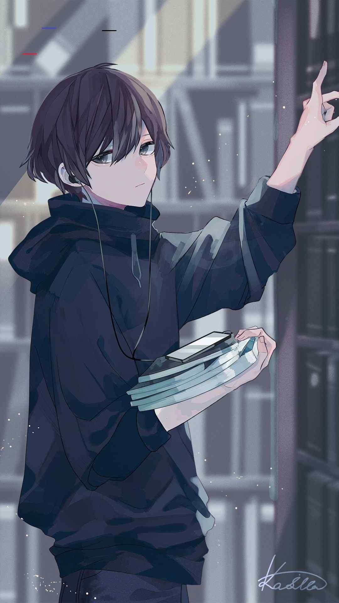September Wallpaper Menhera Kun Bibliothek Illustration Septemberwallpaper Gambar Tokoh Gambar Manga Gambar Karakter