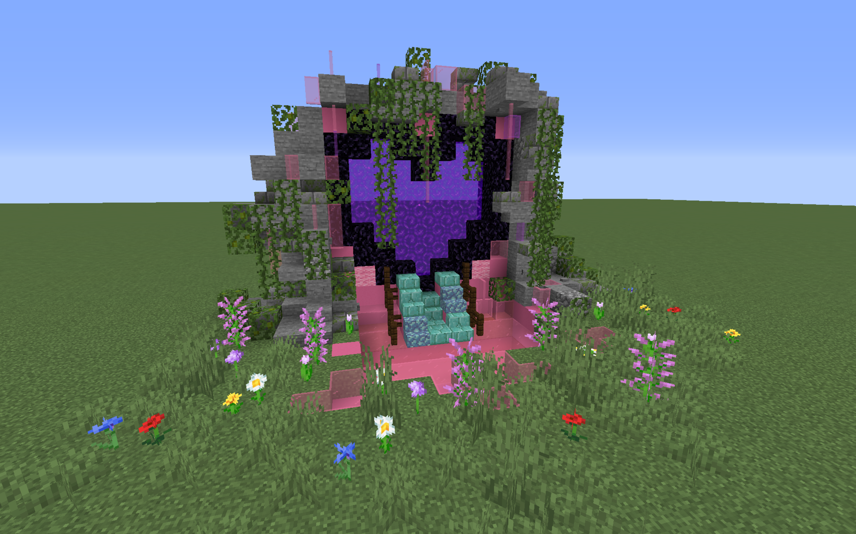 Girlfriend wanted a cuter looking n Minecraft Minecraft farm