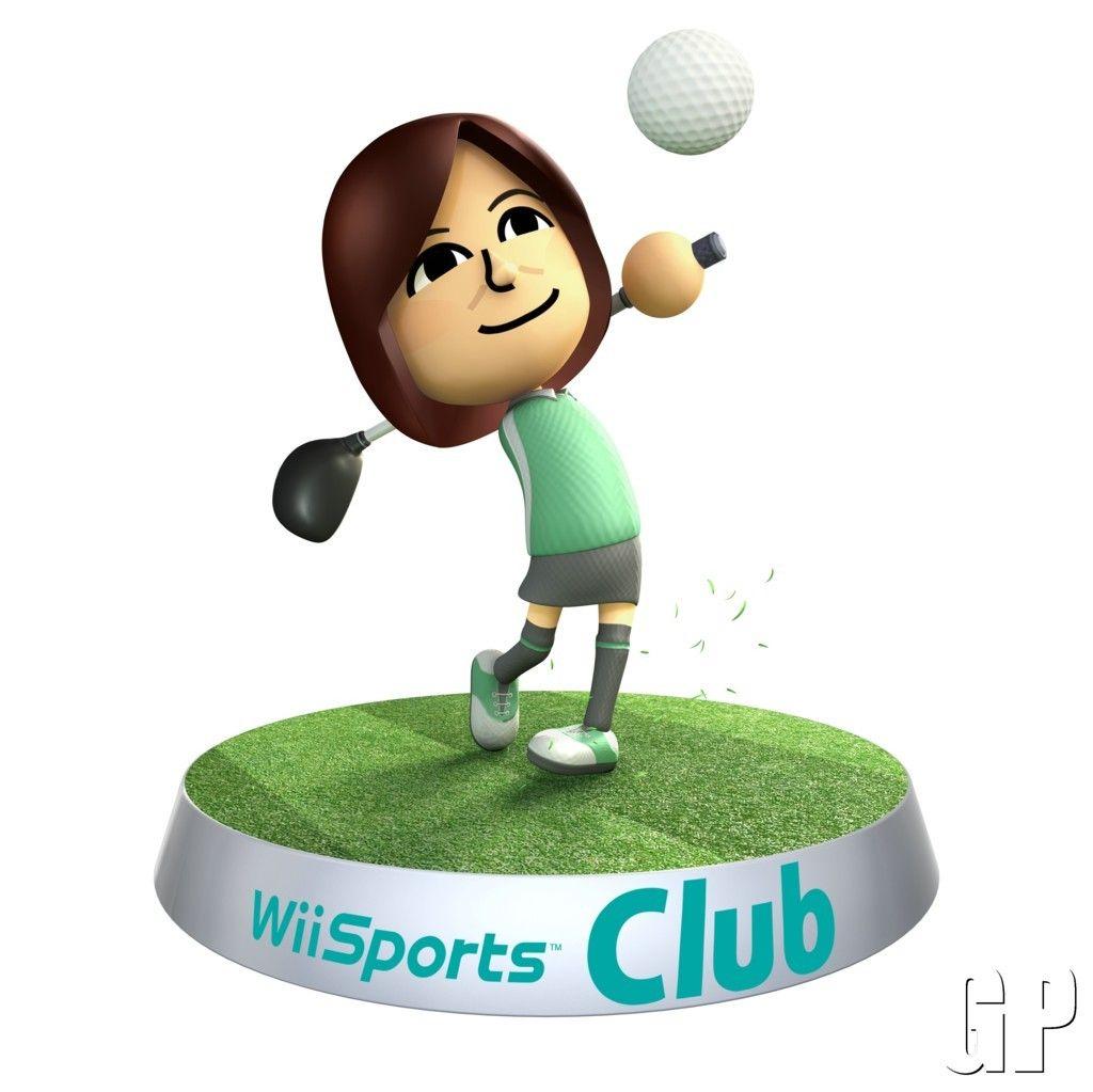 Wii Sports Club Golf Screenshots & Trailer ! Wii