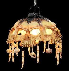Skull light ceiling light skull lamp skull gothic horror deco skull light ceiling light skull lamp skull gothic horror deco fantasy aloadofball Gallery
