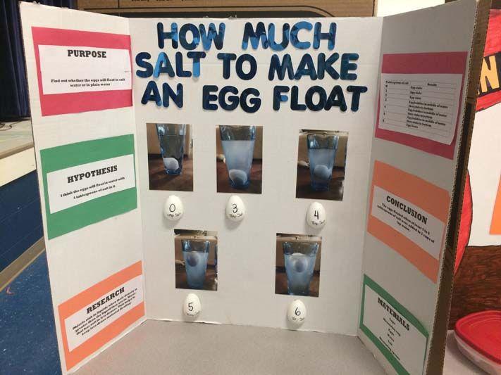 Walking Water Experiment Presentation Board