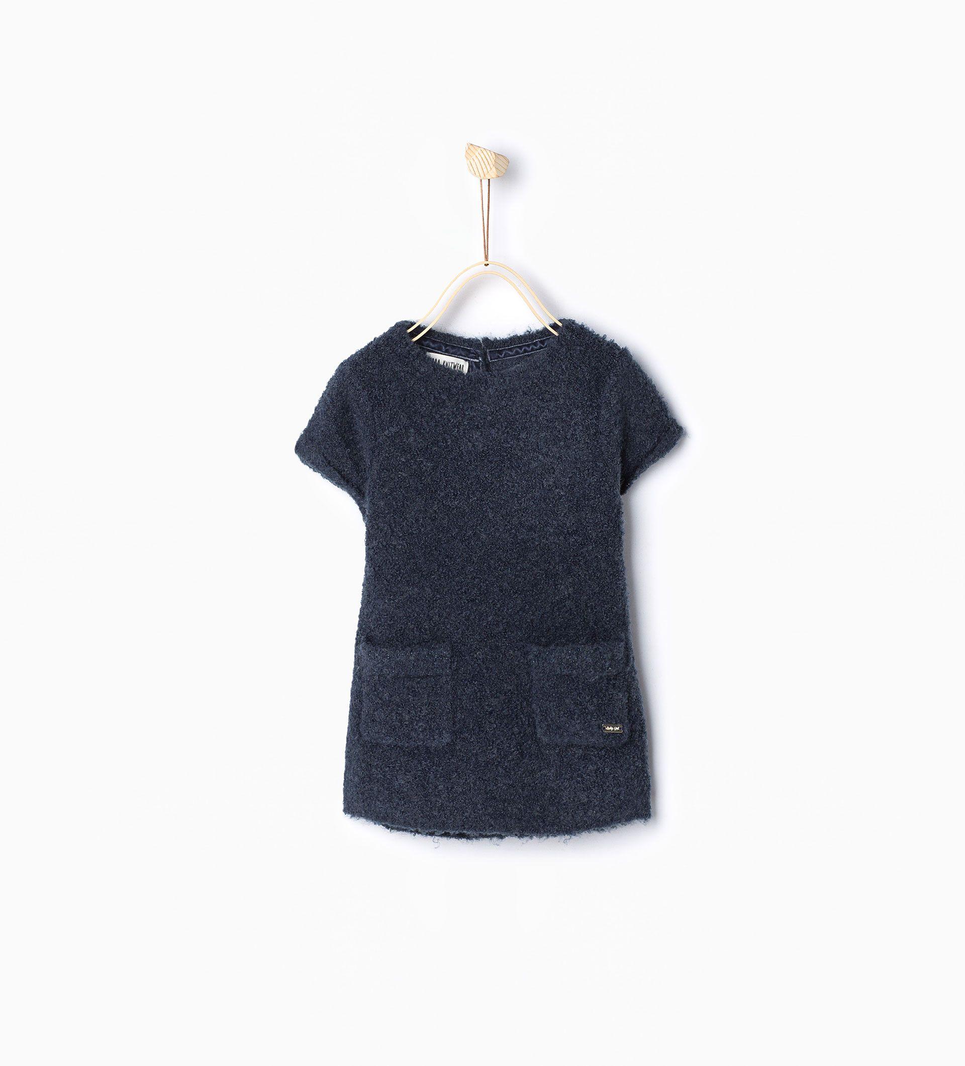 Vestido bolsillos - Vestidos y Monos - Bebé niña - Bebé | 3 meses ...