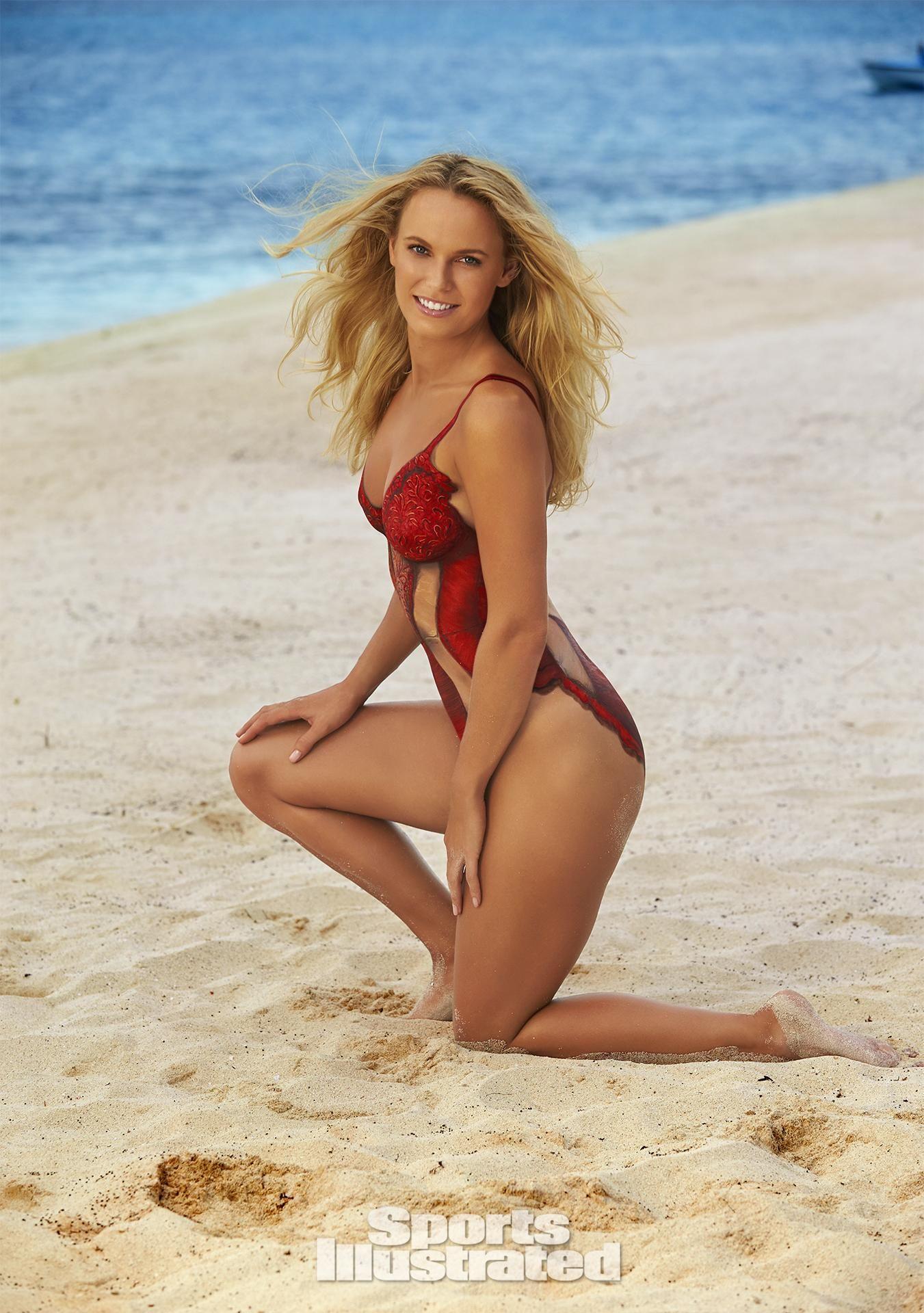2016 swimwear si swimsuit bodypaint sports illustrated body painting ...