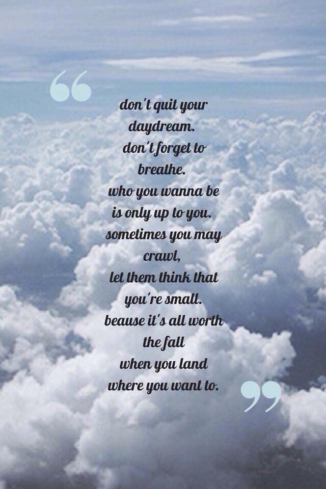 Daydream- Tori Kelly