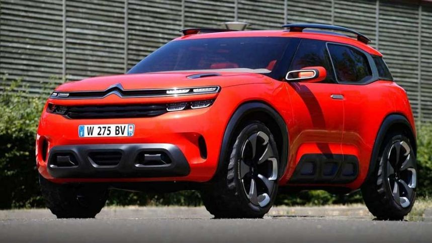 2019 Citroen C5 Aircross Concept And Price Citroen C5 Aircross
