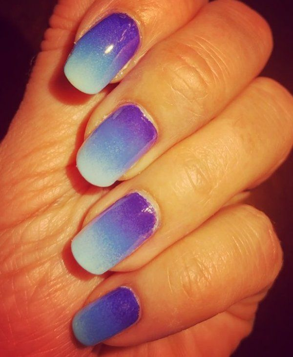 50 Easy And Glamorous Ombre Nail Art Design Ideas For Summer   Ombre ...