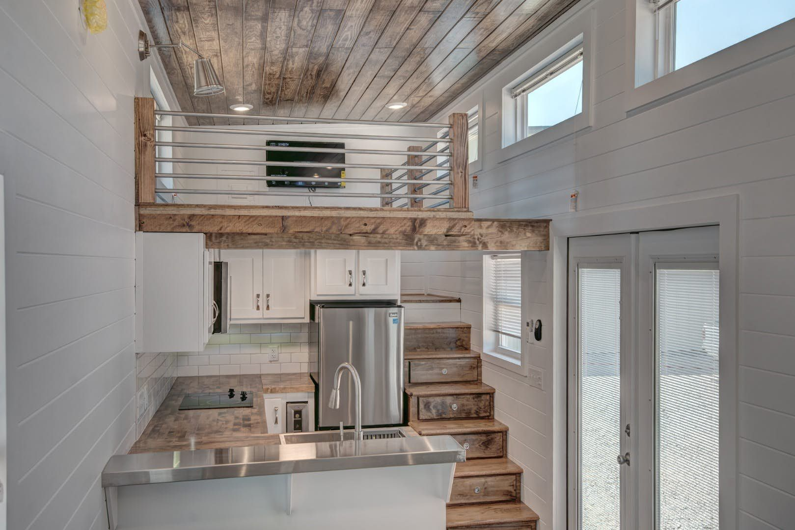 Luxurious Tiny House Squeezes In A Loft With Space To Stand Tiny