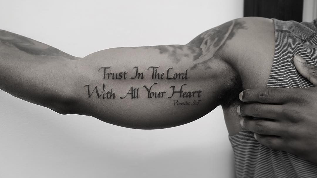 Ink Files Image By T Hink Seward Tattoo Quotes For Men Bicep