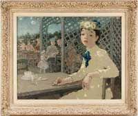 Dietz Edzard (1893-1963)  Oil on Canvas at Dirk Soulis Auctions 3-23-13.