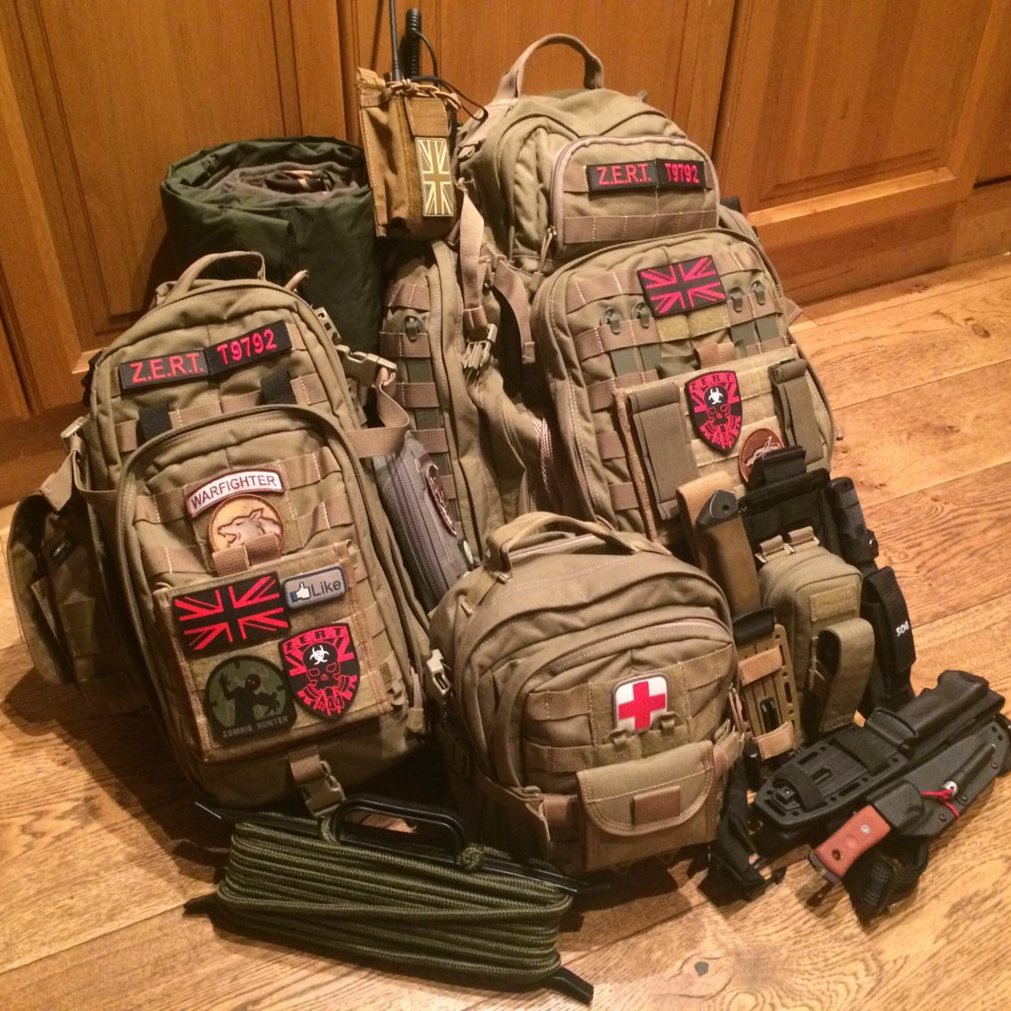My Complete Bug Out Bag 5 11 Rush 72 Moab 10 6 W Radio