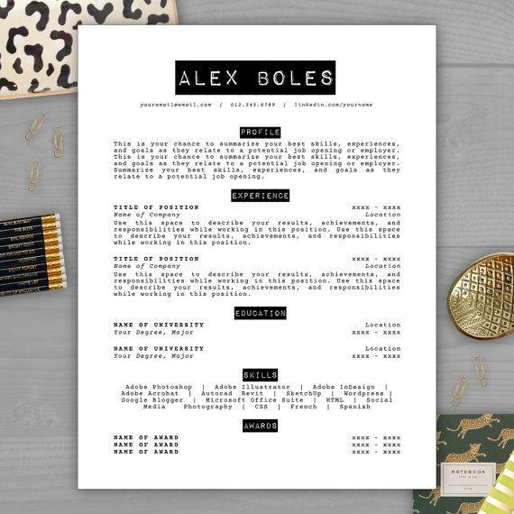 Completely transform your résumé for $15 with a professionally - your resume