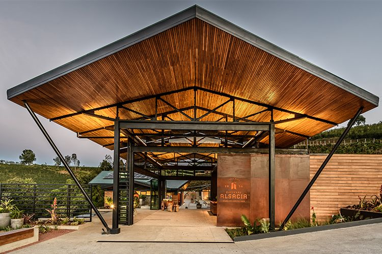 The Latest Costa Rican Destination Is Brought To You By Starbucks Hacienda Architect Architecture