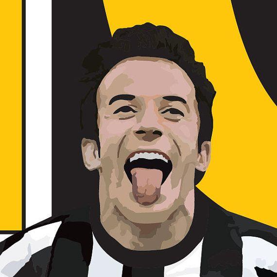 cfba3bec77b Juventus Legend Alessandro Del Piero 10 Poster - Juventus Soccer ...