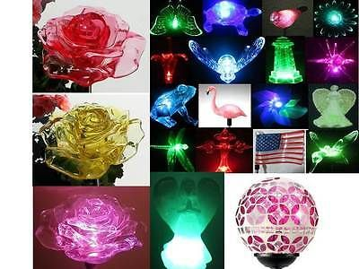 Solar #powered garden decor #stake color #changing yard led outdoor landscape lig,  View more on the LINK: http://www.zeppy.io/product/gb/2/261351673151/