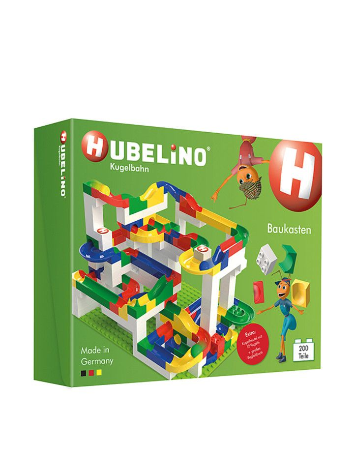 Hubelino Like Lego But For A Marble Run Great Idea For Little