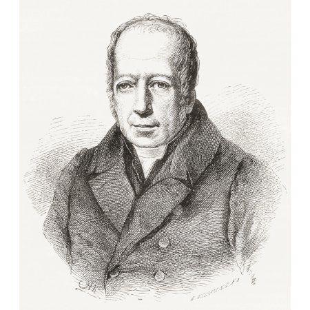 Friedrich Wilhelm Christian Karl Ferdinand Von Humboldt 1767 Canvas Art - Ken Welsh Design Pics (13 x 15)