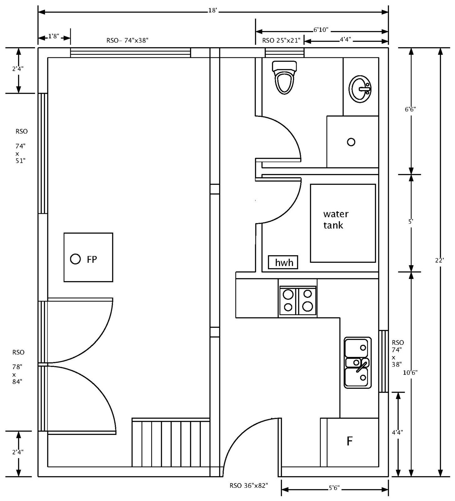 Off Grid Cabin By Canadian Castaway Off Grid Cabin Cabin Ground Floor Plan