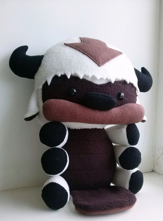 Baby Appa plush~ The Legend of Korra, Stuffed Flying Bison toy ...