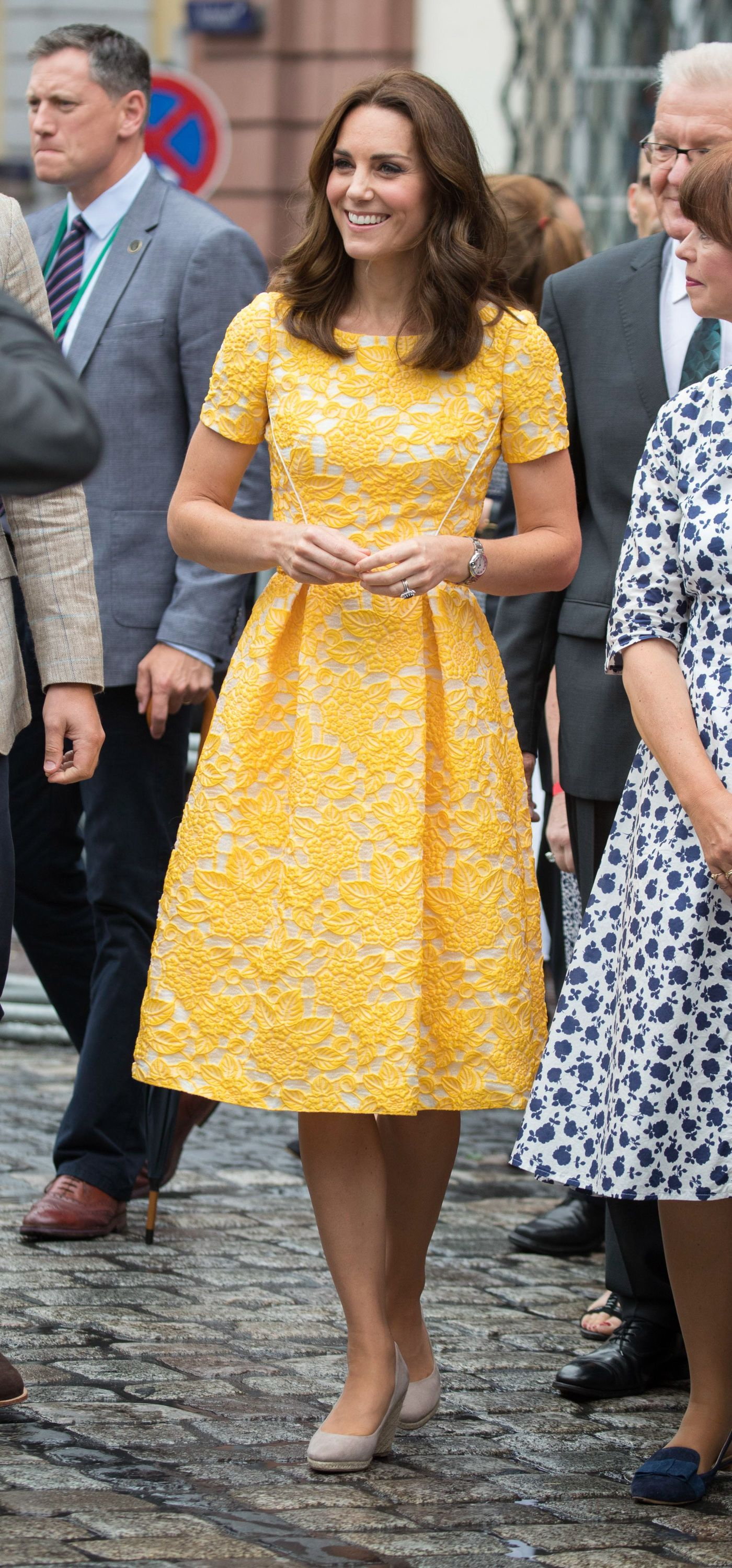Kate Middleton Pulled a Total Meghan Markle with Her Wimbledon Outfit Today