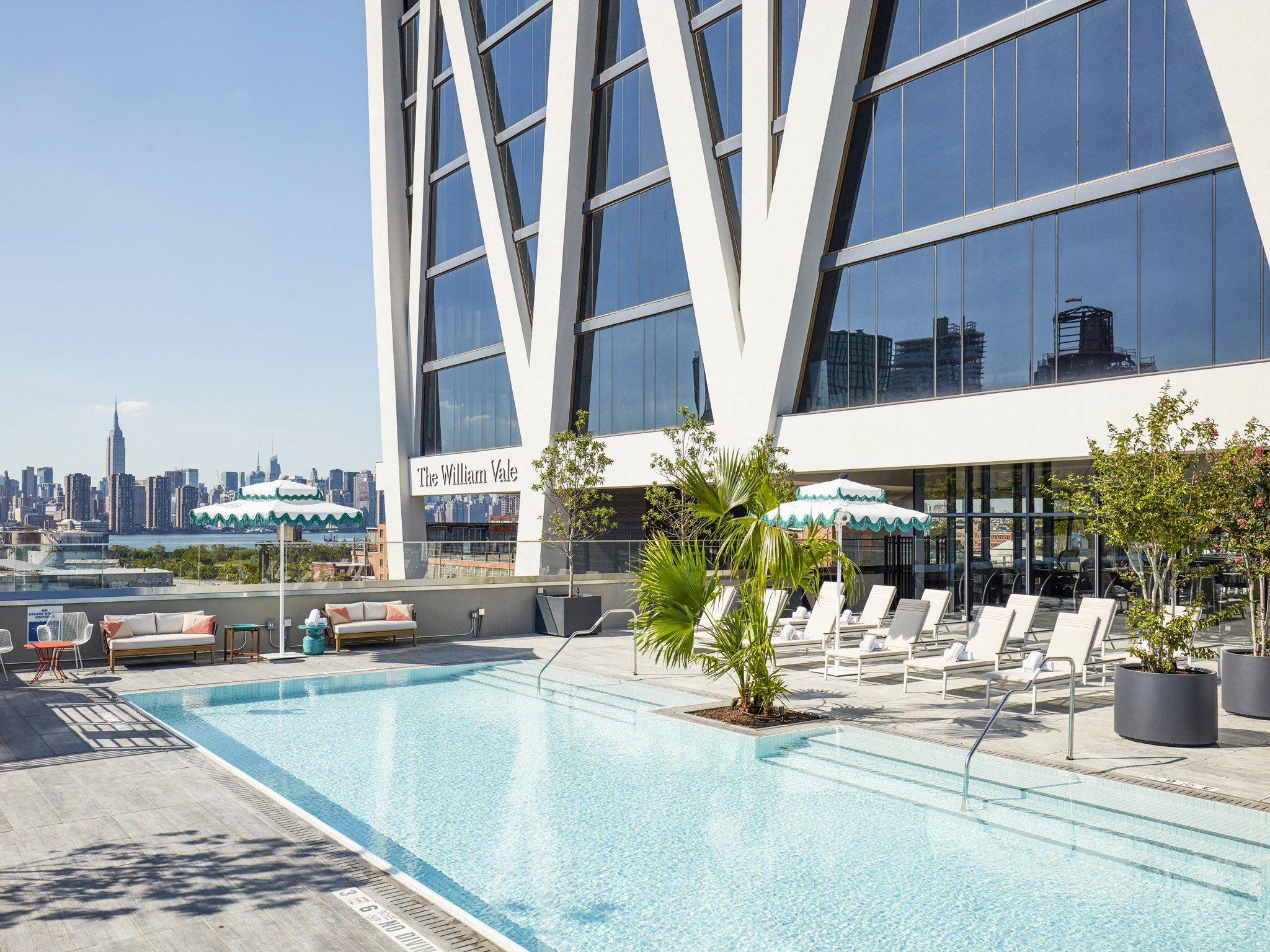 The William Vale Brooklyn Best Hotel Pools In New York City Photos Condé Nast Traveler