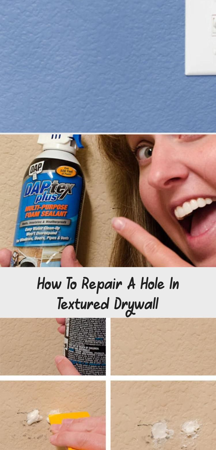 how to repair a hole in textured drywall texturizing on dry wall id=30319