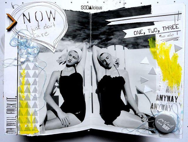 made by Guru ► SODAlicious art journal challenge No34