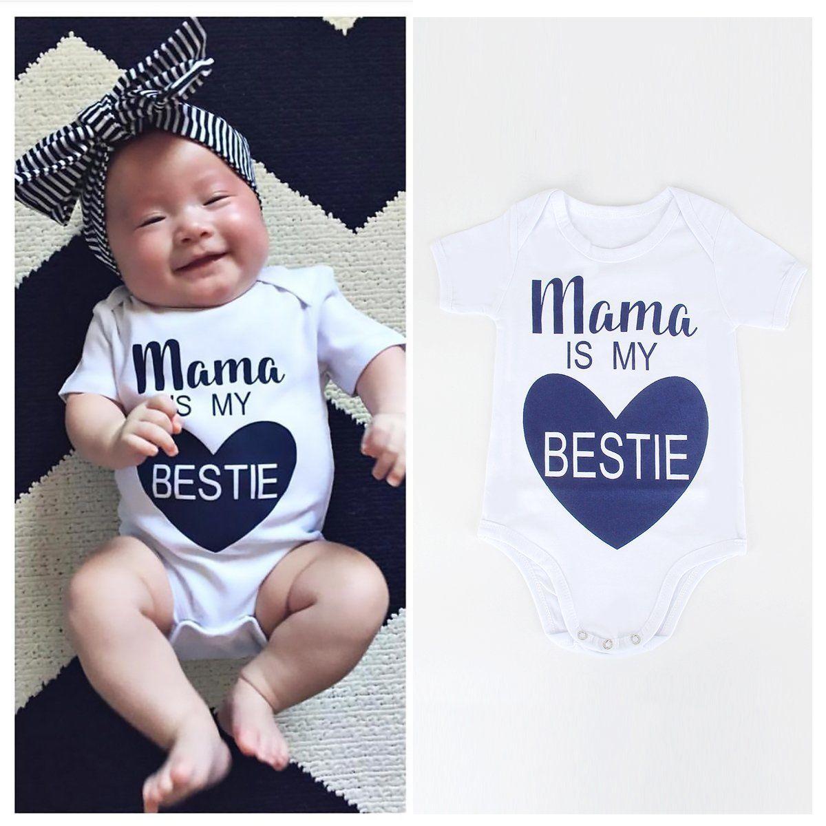 c512a0143f9  2.99 - Newborn Infant Kids Baby Boys Girls Romper Jumpsuit Bodysuit  Outfits Clothes Set  ebay  Fashion