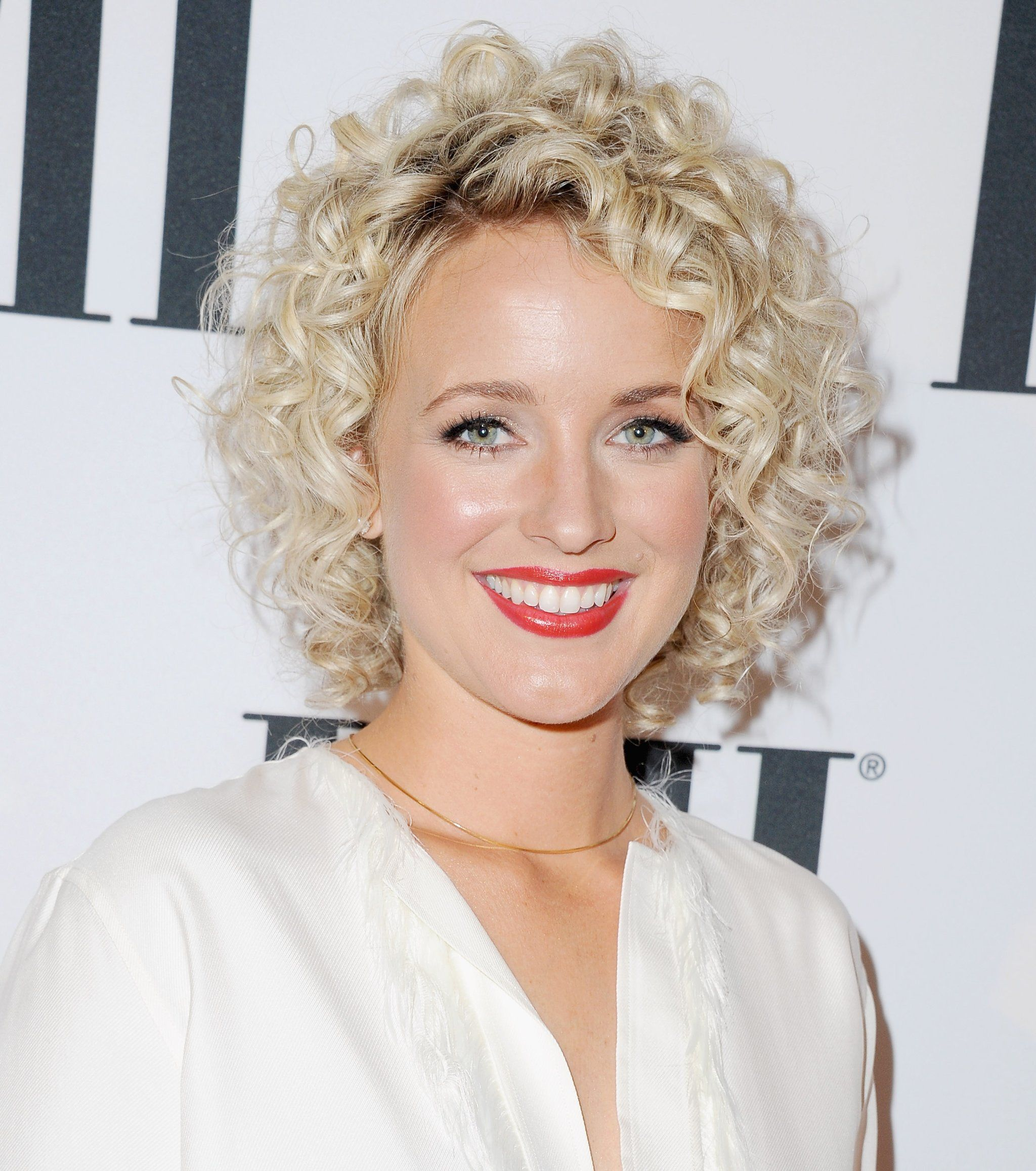 Curly piecey bob bobs hair style and beauty photos