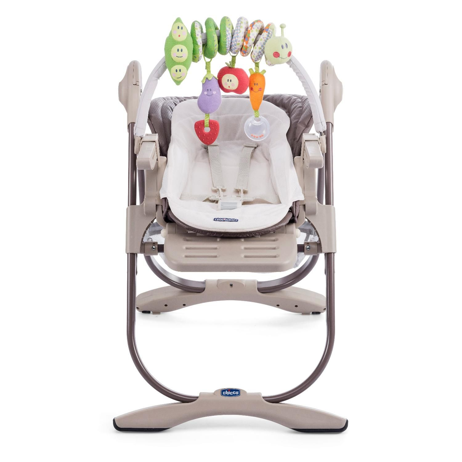 Chicco Polly Magic Highchair Truffle Kiddicare Com Chicco Baby