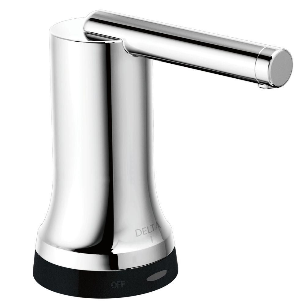 Delta Contemporary Touch2o Xt Soap Dispenser In Chrome 72065t In