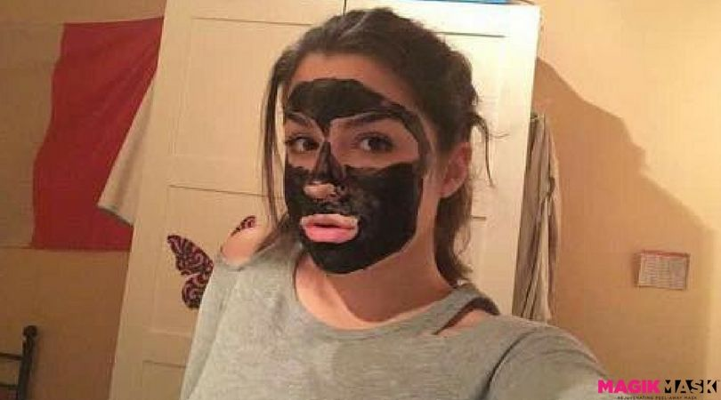 Customer review from aubrey for magik mask my