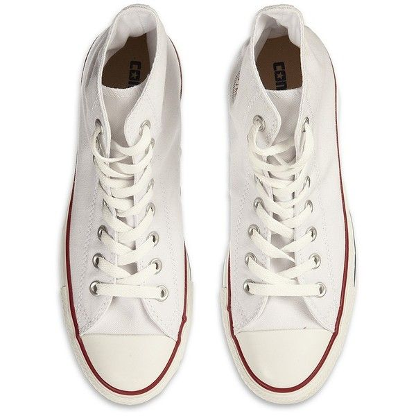 Converse Chuck Taylor All Star Hi Tops ($81) ❤ liked on Polyvore
