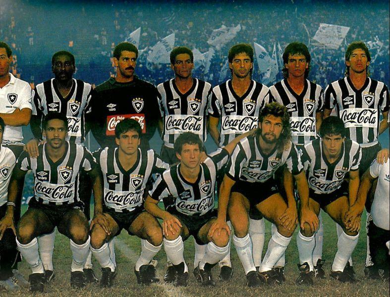 Poster  Botafogo campeão carioca de 1989 (invicto).  172a778caa89a