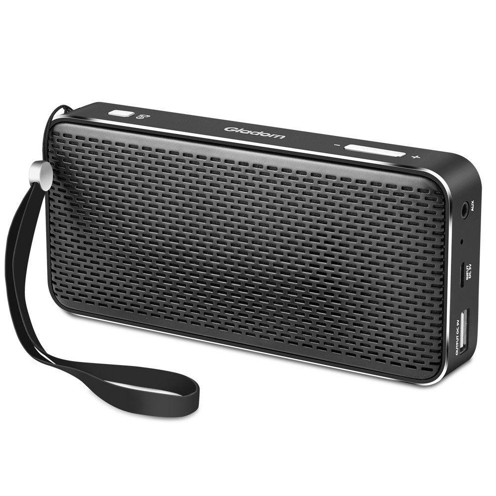 Gladorn Bluetooth Speaker Pocket Size Portable Wireless