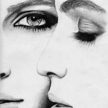 Fine art print of pencil drawing art print pencil drawing black and white