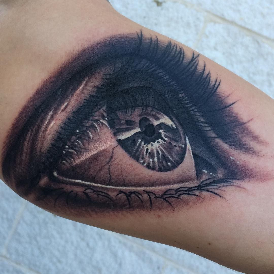 Tattooalgarcia Tattoo Auge Tatowierungen Gottin Tattoo