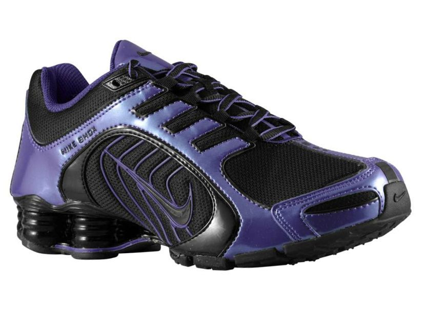 Nike Shox Navina Si Black/Club Purple | It's All About The Shoes: My Kicks  | Pinterest | Nike shox and Purple