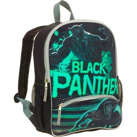 16 inch Marvel Captain America  Civil War Black Panther Full Size Backpack 3313e90d65547