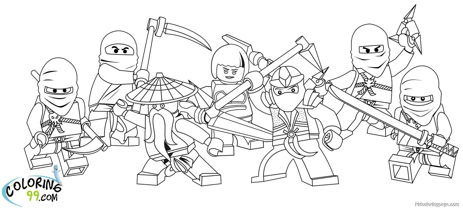 Lego Ninjago Team Coloring Pages Free Coloring Pages Printable Ninjago Coloring Pages Lego Coloring Pages Free Coloring Pages
